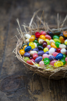 Easter nest of jelly beans - LVF002715