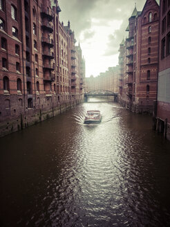 Germany, Hamburg, Old Warehouse district - KRP001205
