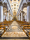 Italy, Sicily, Modica, interior view of Chiesa di San Pietro - AM003673