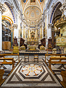 Italy, Sicily, Modica, interior view of Chiesa di San Pietro - AM003676