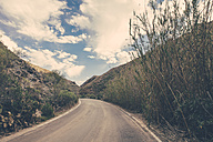 Spain, Canary Islands, Gran Canaria, road through a valley - MFF001448