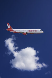 Germany, flying airbus A321-211 of Air Berlin - JWA000239