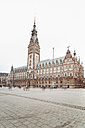 Germany, Hamburg, view to town hall - SEF000893