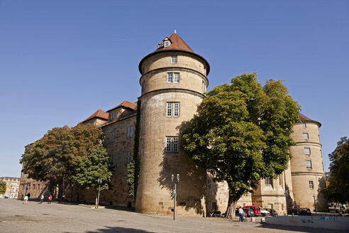 Germany, Stuttgart, old castle - PC000059
