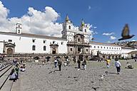Ecuador, Quito, Plaza de San Francisco and Church and Monastery of St. Francis - FO007619