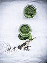 Kale smoothie with chia seeds - LVF002751