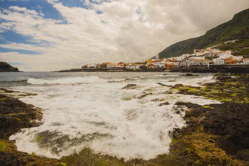 Spain, Canary Islands, Tenerife, View of Garachico - WGF000602