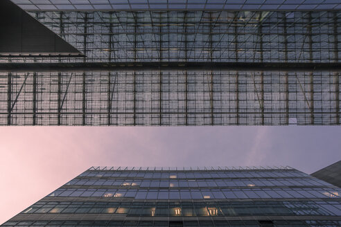 Germany, Berlin, Berlin-Mitte, Modern Architecture, Office buildings, Glass facade and steel - ZMF000361