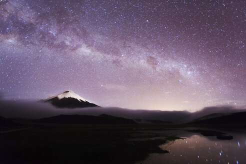 Ecuador, Pichincha, Cotopaxi National Park, Summit of Cotopaxi volcano - FPF000019