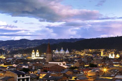Ecuador, Cuenca in evening light - FPF000021