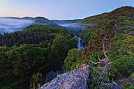 Austria, Upper Austria, Waldviertel, Thaya Valley National Park, View to Thaya river - GFF000565