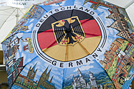 Germany, umbrella with representations of German landmarks - TC004534