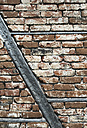 Old brick wall and beams - DEGF000209