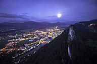 Austria, Salzburg State, Hallein at night - STCF000076