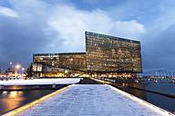 Iceland, Reykjavik, Harpa concert hall - FP000039