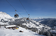 Austria, ski area Muehlbach-Hochkoenig in winter - WW003803