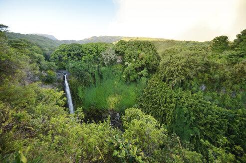 USA, Hawaii, Maui, Haleakala National Park, Makahiku Falls - BRF001107