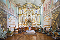 Ecuador, Cuenca, high altar at Museum for Religious Art - FO007703