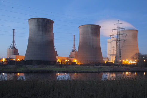 Germany, Werne, gas power station - WIF001530