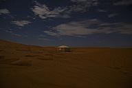 Morocco, Sahara, tent at night - STDF000137