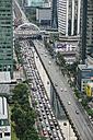 Thailand, Bangkok, traffic jam - STDF000169