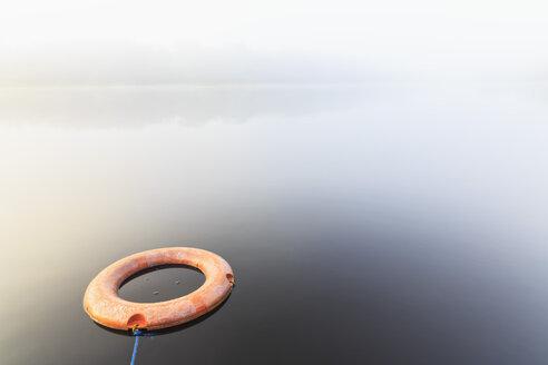 Ecuador, Amazon River region, lifesaver in a lagoon - FOF007742