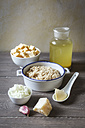 Ingredients of swede risotto - EVGF001279