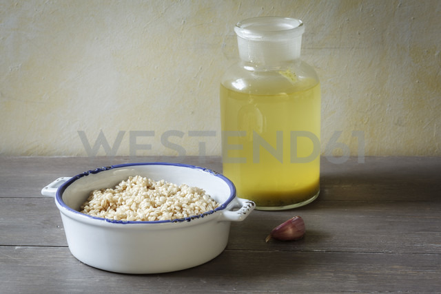 Ingredients of wholegrain risotto - EVGF001282