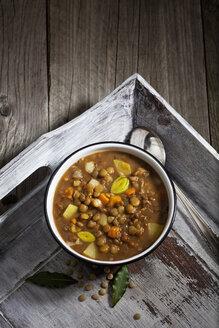 Bowl of lentil soup - CSF024815