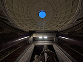 Italy, Rome, Interior of the Pantheon - LA001343