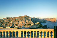 Spain, Majorca, view on the Tramuntana mountains from Cap Formentor - MEMF000723