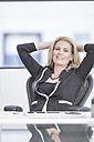 Portrait of confident businesswoman in office - ZEF004642