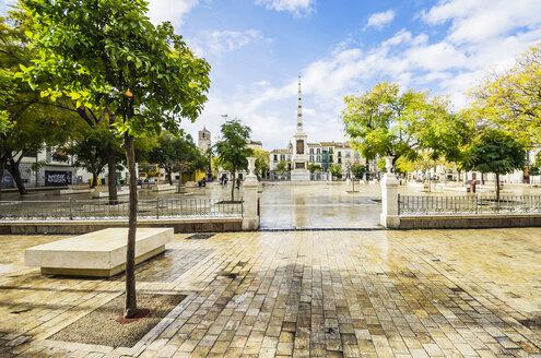 Spain, Andalusia, Malaga, Plaza de la Merced - THAF001277