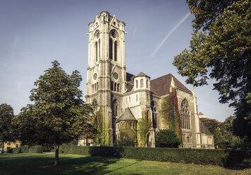 Germany, Brunswick, view to St. Pauli Church - EVGF001341