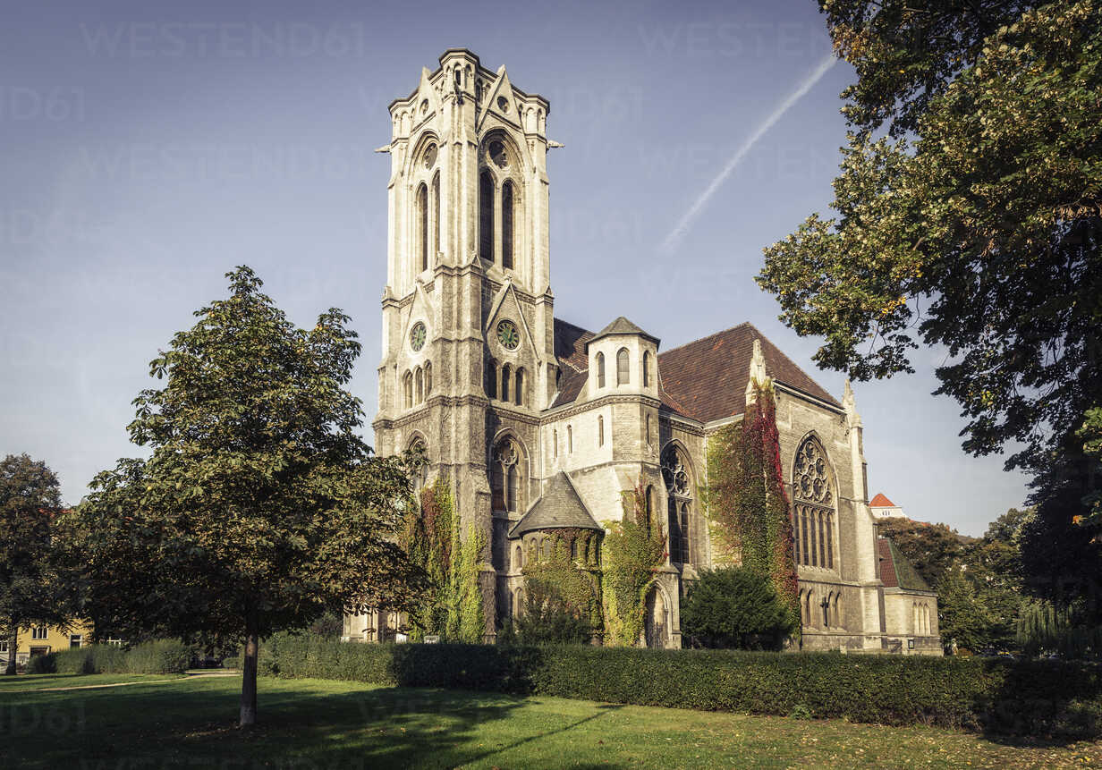 Germany, Brunswick, view to St. Pauli Church - EVGF001341 - Eva Gruendemann/Westend61