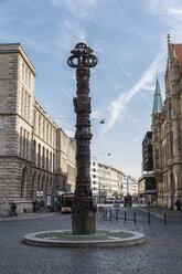Germany, Brunswick, view to column '2000 years Christianity' - EVGF001343
