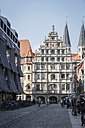 Germany, Brunswick, view to cloth hall - EVGF001352