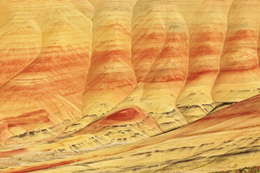 USA, Oregon, John Day Fossil Beds National Monument, Painted Hills - FOF007810
