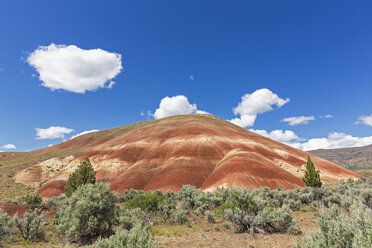 USA, Oregon, John Day Fossil Beds National Monument, Painted Hills - FOF007813
