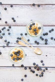 Yogurt with granola and blueberries - LVF003054
