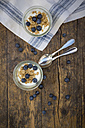 Yogurt with granola and blueberries - LVF003059