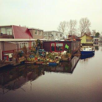 Netherlands, Amsterdam, house boats - SEG000250