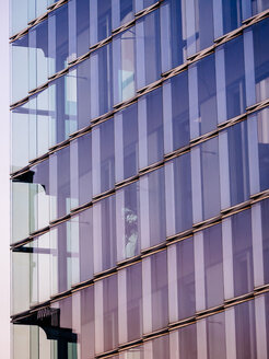Germany, Hamburg, detail of modern office building at Hafencity - KRPF001352