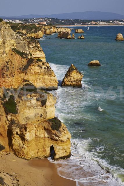 Portugal, Algarve, Lagos, rocky coast and beach - MRF001544 - Michael Reusse (alt)/Westend61