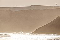 Portugal, Algarve, Sagres, coastline at Mareta Beach - MRF001553
