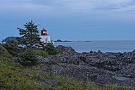 Canada, British Columbia, Vancouver Island, Ucluelet, Amphitrite Lighthouse - KEBF000024