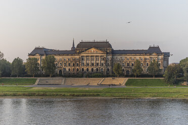 Germany, Dresden, view to Saxon state ministry - PVCF000370