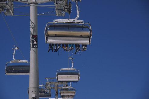 Austria, Vorarlberg, Damuels, ski lift - CHPF000116