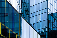Germnay, Munich, glass facade of a modern office building - TCF004601