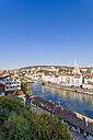 Switzerland, Zurich, Cityview, River Limmat and Limmatquai - WDF003011